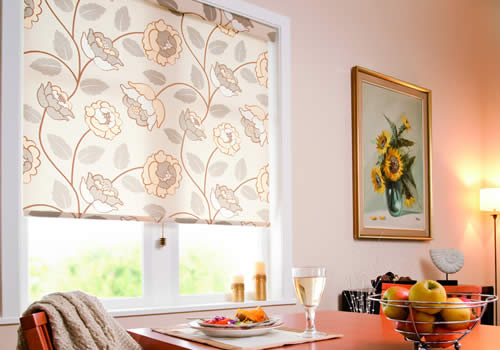 Senses Roller Blinds manufactured by Rainbow Blinds Trade Suppliers UK